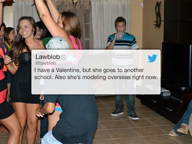Funny Valentine's Day Tweets on Twitter. (16)