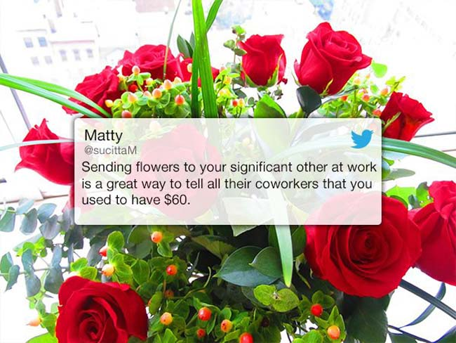 Funny Valentine's Day Tweets on Twitter. (14)