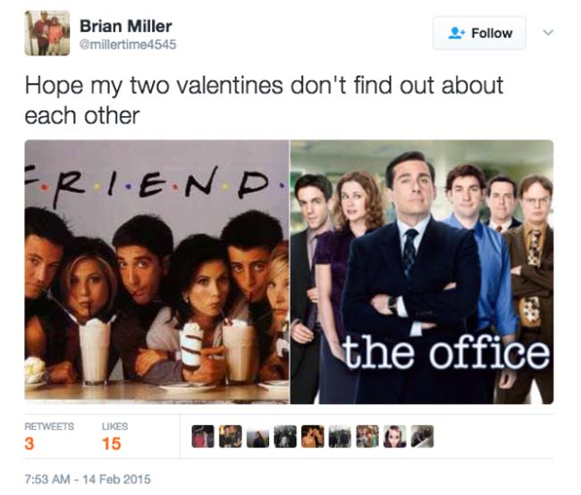 Funny Valentine's Day Tweets on Twitter. (7)
