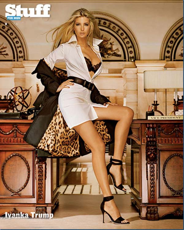 Ivanka Trump sexiest pictures from her hottest photo shoots. (7)