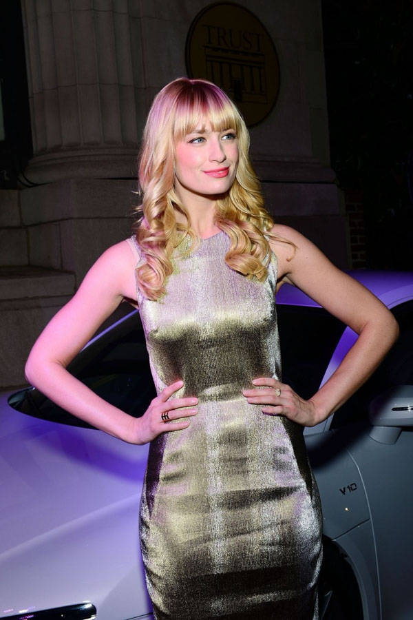 Beth Behrs sexiest pictures from her hottest photo shoots. (17)