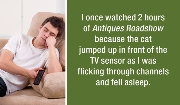 Funny lazy stories confessed by strangers. (23)