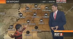 Kid Interrupts Live Weather Report Screaming About 'Farts And Toots' (Video.)