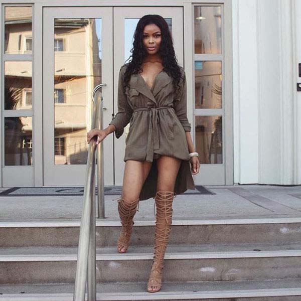 Ajiona Alexus sexiest pictures from her hottest photo shoots. (3)