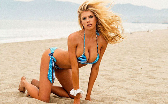 Charlotte McKinney sexiest pictures from her hottest photo shoots. (48)