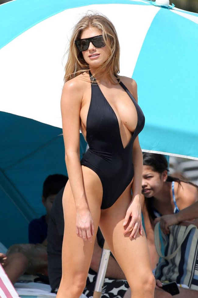 Charlotte McKinney sexiest pictures from her hottest photo shoots. (30)