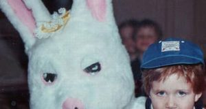 Creepy Easter Bunny Photos. (43)