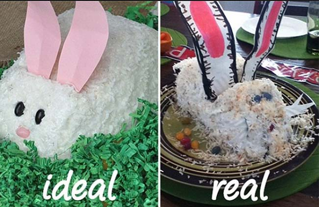 Funny Easter cooking fails photos. (36)