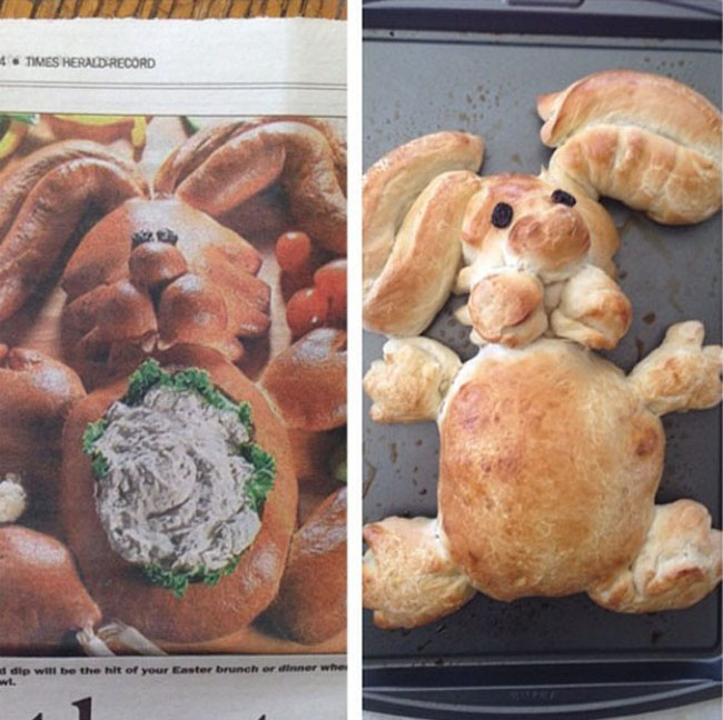 Funny Easter cooking fails photos. (30)