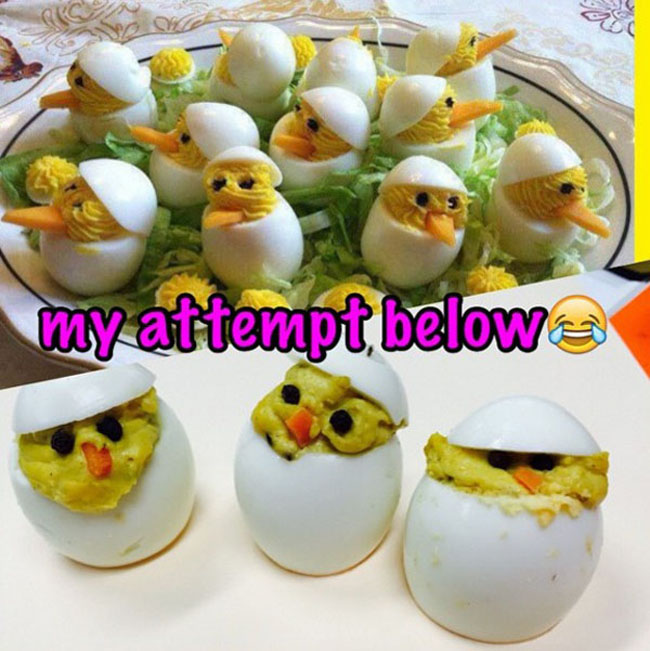 Funny Easter cooking fails photos. (28)