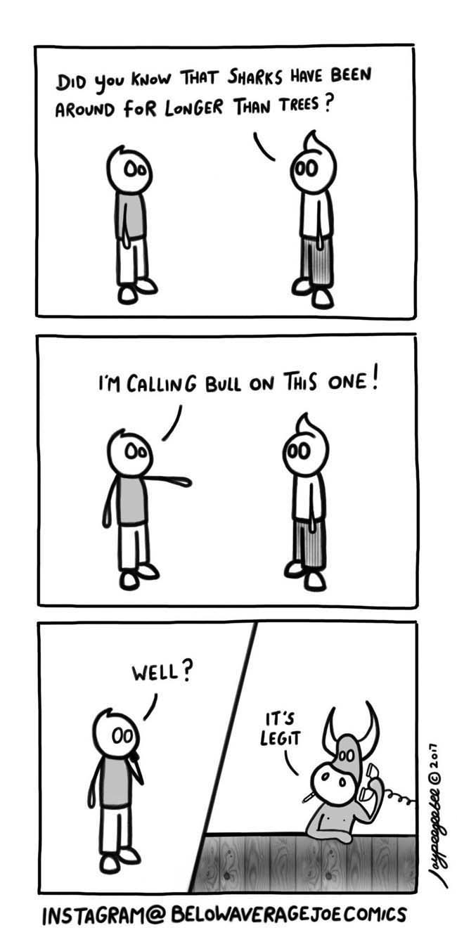 Funny comic strips and memes. (10)