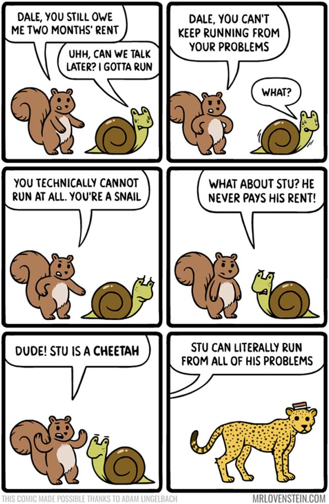 Funny comic strips and memes. (7)