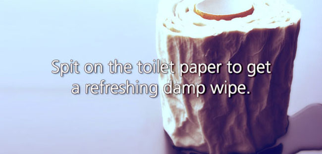 Funny Life Hacks that are also a little grimy. (19)