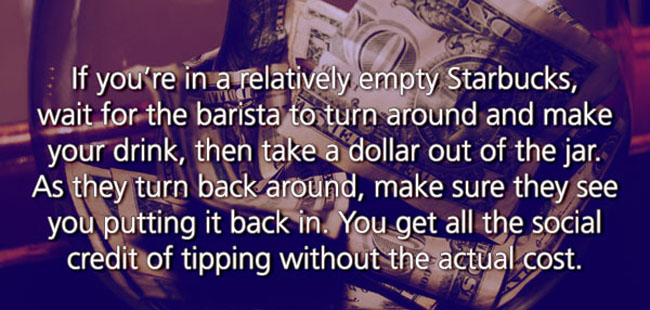 Funny Life Hacks that are also a little grimy. (12)