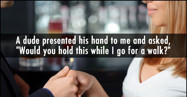 Funny pickup lines. (12)