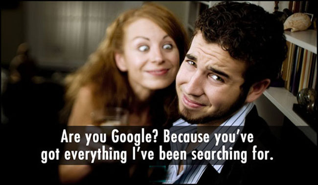 Funny pickup lines. (10)
