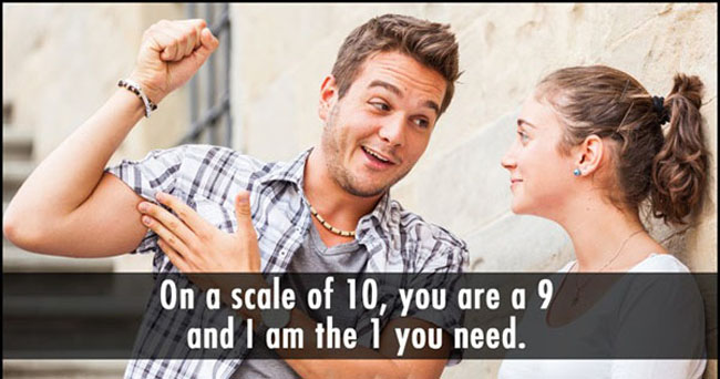 Funny pickup lines. (6)