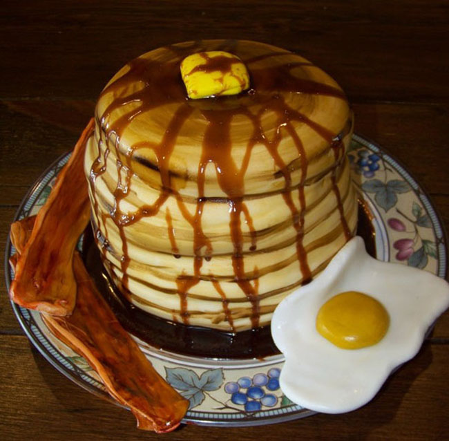 Cake that looks like food pictures. (5)