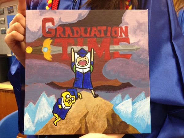Pictures of Funny Graduation Caps. (47)