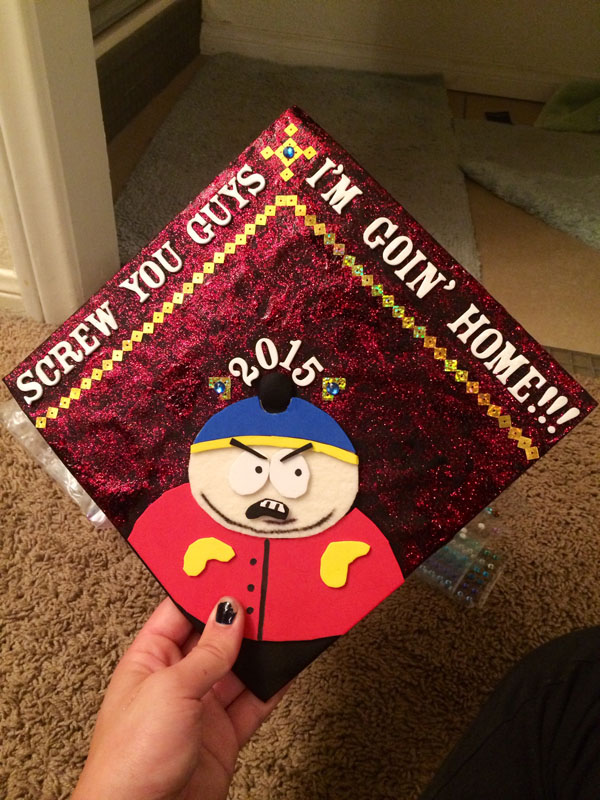 Pictures of Funny Graduation Caps. (42)