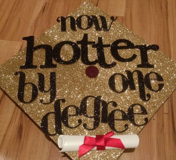 Pictures of Funny Graduation Caps. (41)