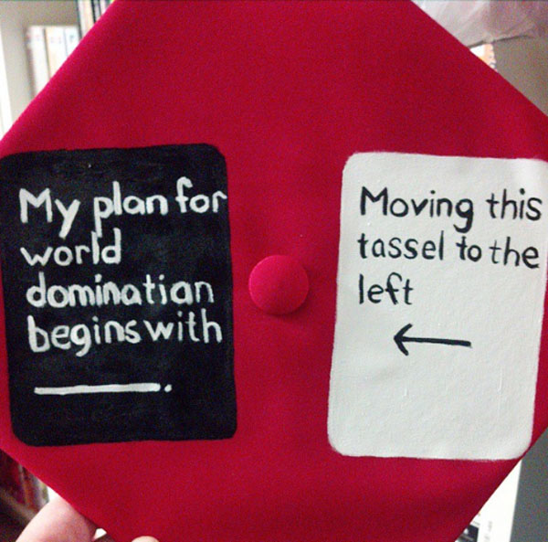 Pictures of Funny Graduation Caps. (40)