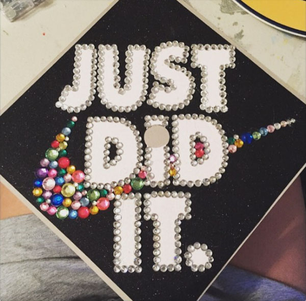 Pictures of Funny Graduation Caps. (35)