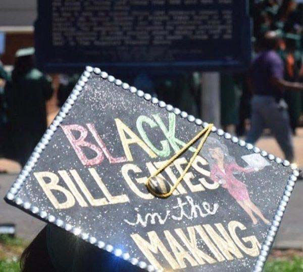 Pictures of Funny Graduation Caps. (38)