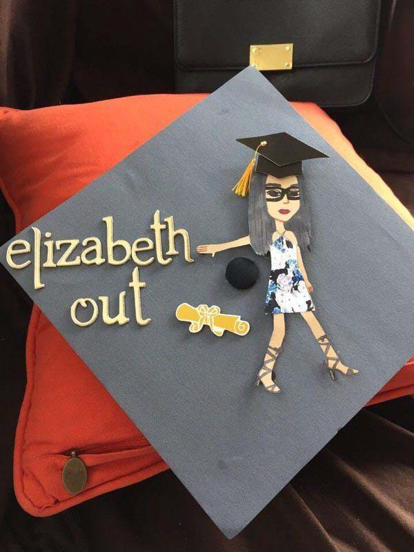 Pictures of Funny Graduation Caps. (27)