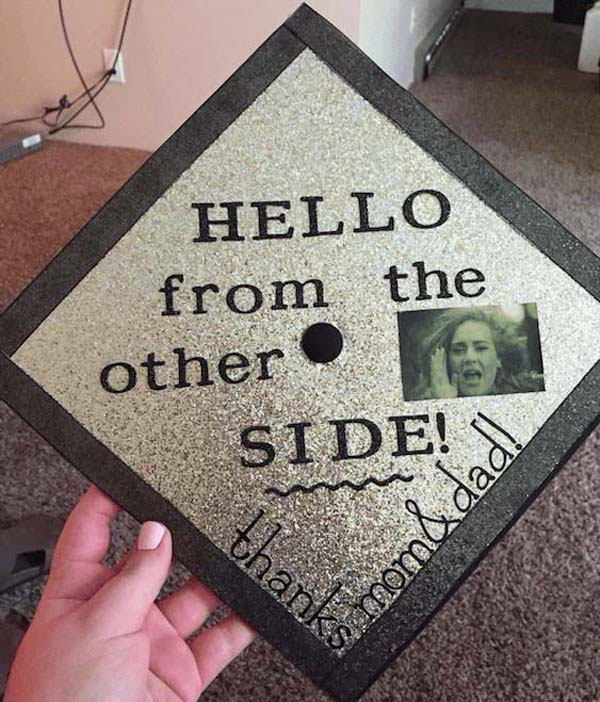 Pictures of Funny Graduation Caps. (20)