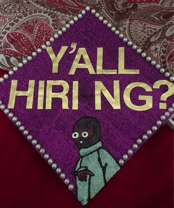 Pictures of Funny Graduation Caps. (18)