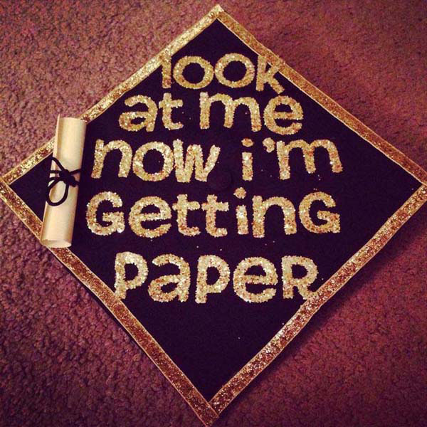 Pictures of Funny Graduation Caps. (15)