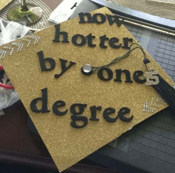 Pictures of Funny Graduation Caps. (11)