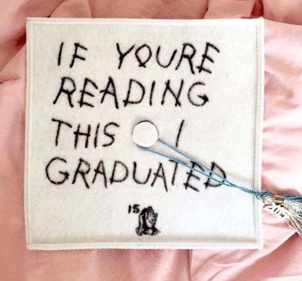 Pictures of Funny Graduation Caps. (7)