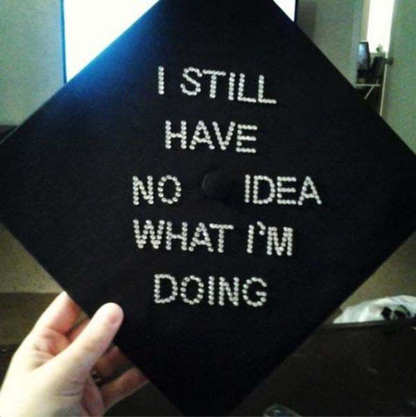 Pictures of Funny Graduation Caps. (4)