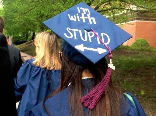 Pictures of Funny Graduation Caps. (1)