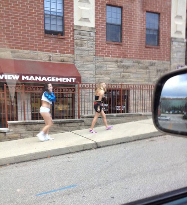Funny walk of shame pictures. (20)