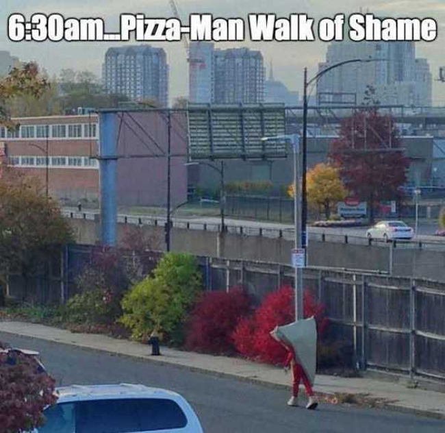 Funny walk of shame pictures. (12)