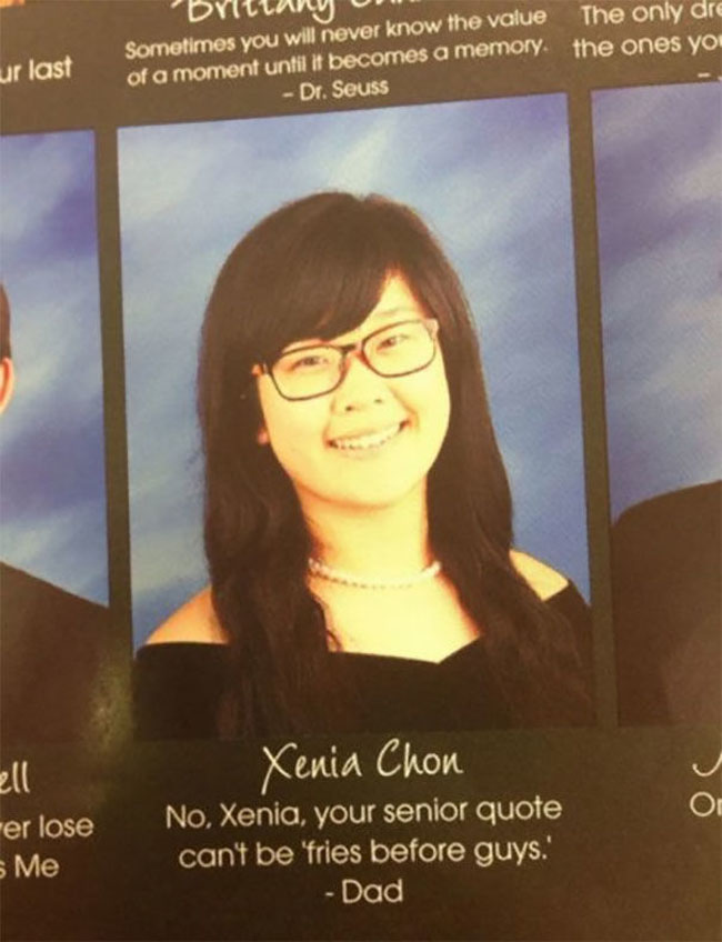 Funny Yearbook Quotes. (31)