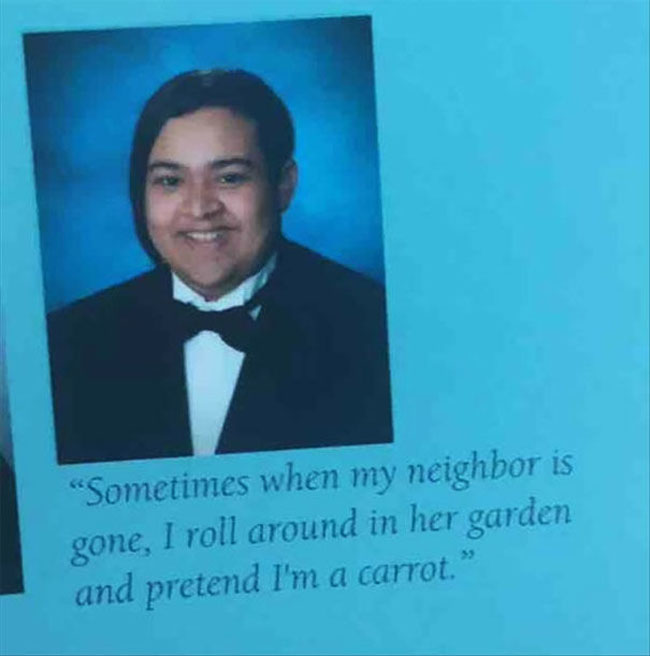 Funny Yearbook Quotes. (30)