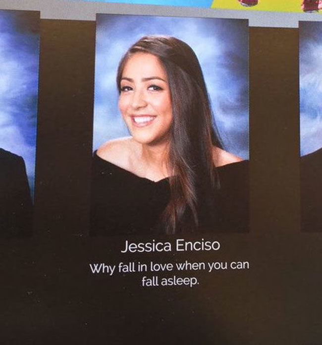 Funny Yearbook Quotes. (22)