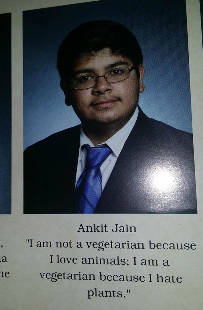 Funny Yearbook Quotes. (19)