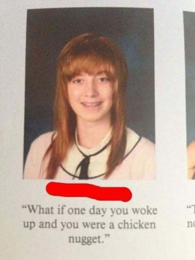 Funny Yearbook Quotes. (13)