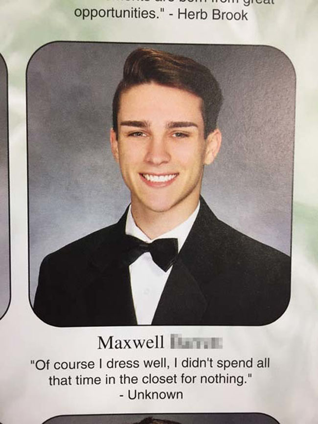Funny Yearbook Quotes. (8)