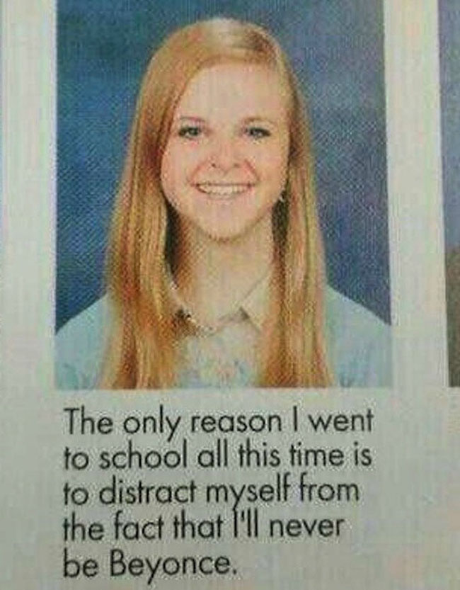 Funny Yearbook Quotes. (6)