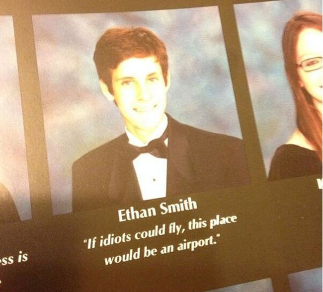 Funny Yearbook Quotes. (2)
