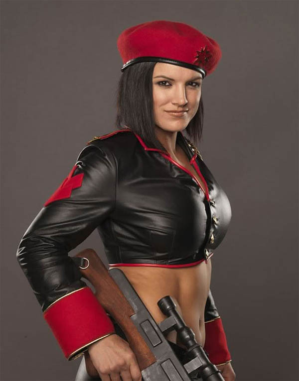 Gina Carano sexiest pictures from her hottest photo shoots. (27)