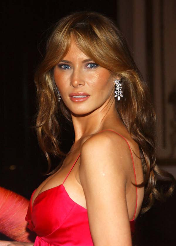 Melania Trump Hottest Photos  Sexy Near-Nude Pictures, Gifs-8668