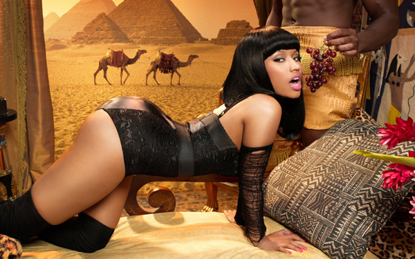 Nicki Minaj puts on a curvy display Celebrity photos and galleries.
