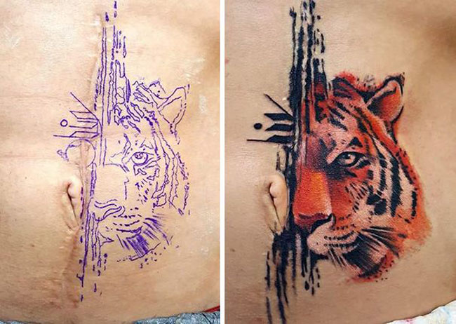 Scar Tattoos photos. (35)